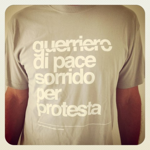 t-shirt guerriero