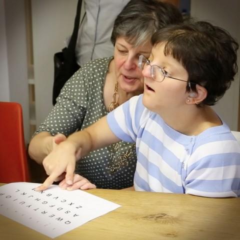 Giulia (con mamma Paola)