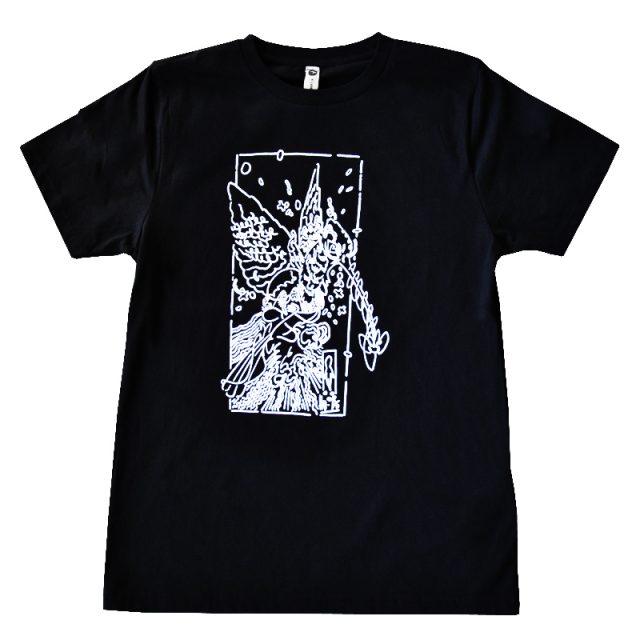 t-shirt adulto con stampa serigrafica disegno