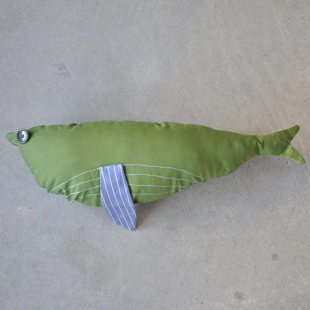 cuscino a forma di balena