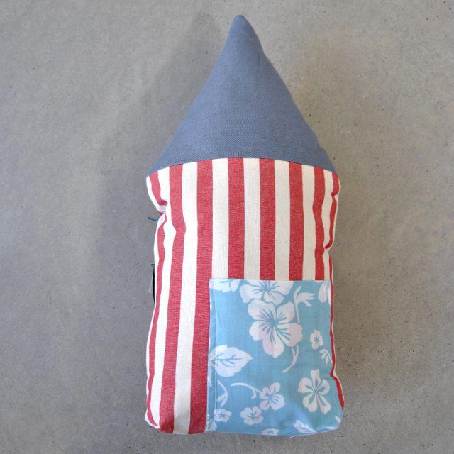 cuscino a forma di casetta